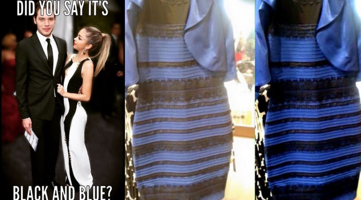 Celebs React to The Dress Debate: Black & Blue or Gold & White?