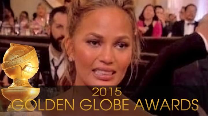 Golden Globes 2015: Chrissy Teigen's Best Face Memes   Hollyscoop News