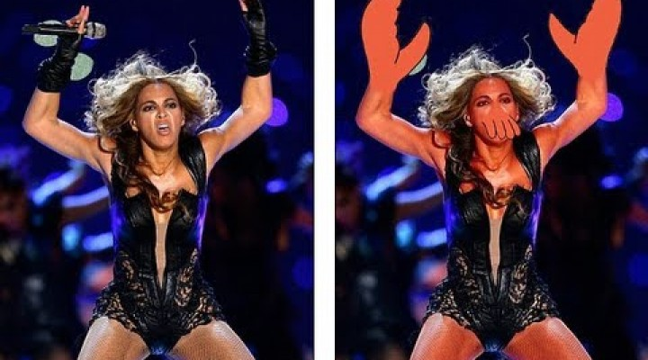 Memes of BEYONCE photos Super Bowl 2013 (HD)