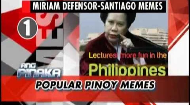 'Miriam memes' top list of popular Pinoy memes | Ang Pinaka