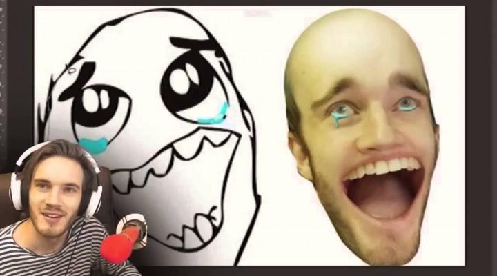 PewDiePie : MEMES IN REAL LIFE? 在現實生活中的意義臉? (中文字幕) (通知)