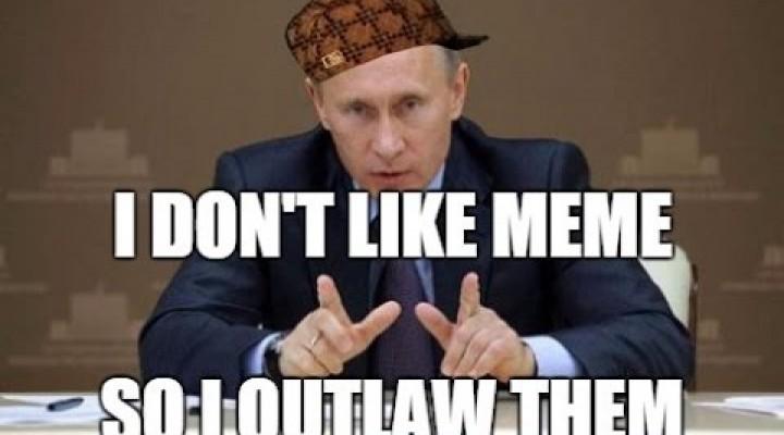Russia Bans Celebrity Memes