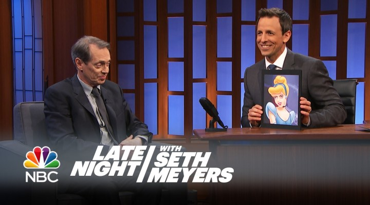 "Steve Buscemi Responds to the ""Buscemi Eyes"" Meme – Late Night with Seth Meyers"