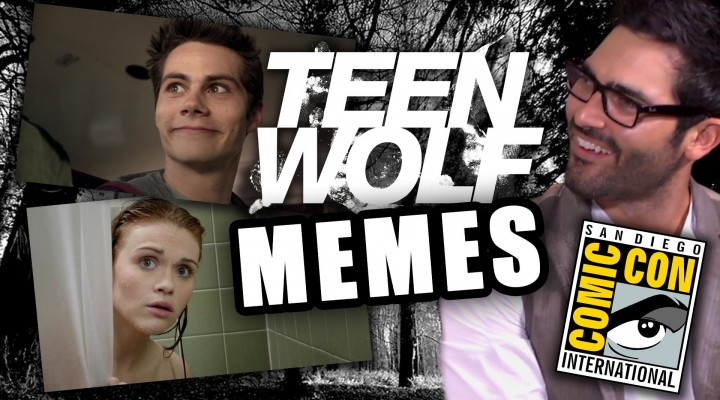 Teen Wolf Cast Creates Memes & Talks Wieners: Comic-Con 2014