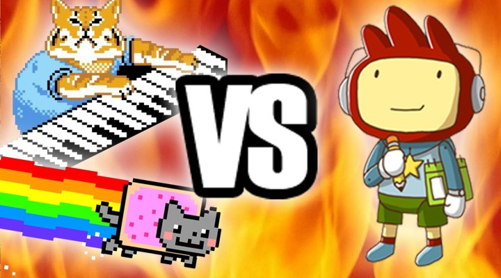 Nyan Cat and Keyboard Cat creators sue Scribblenauts studio