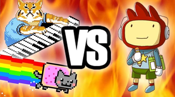 Nyan Cat and Keyboard Cat creators sue Scribblenauts studio